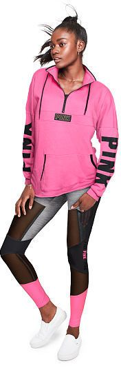 PINK Varsity Quarter-Zip #ad