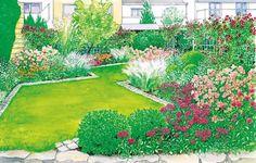 Ein Reihenhausgarten Bedeutet Oft Langweile Pur, Denn Das Kleine Schmale  Grundstück Lässt Nicht Gerade Die Gestaltungsideen Sprudeln.