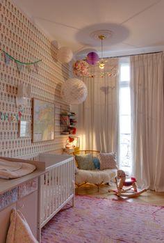 Home Tour : appartement Paris Casa Kids, Ideas Vintage, Modern Bedroom Decor, Kids Room Design, Kids Decor, Home Decor, Nursery Room, Apartment Nursery, Baby Room