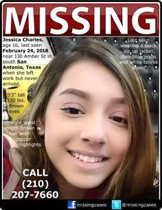 Find Missing Jessica Charles! Missing Child, Missing Persons, Amber Alert, Sad Pictures, Losing Someone, Helping Hands, Praise God, We The People, Onions