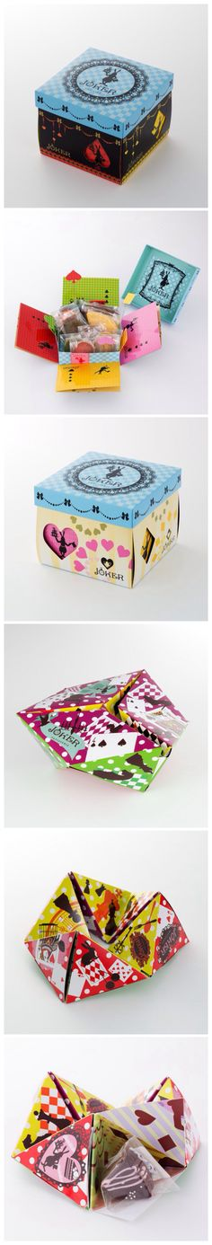 Patisserie Joker, Japan in clever #packaging. Sorry there is no source link. If you have one please share PD