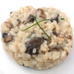 Mushroom Truffle Risotto - Mom What's for Dinner?