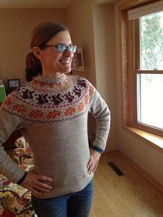 Sipsey's Folly - Beautiful Autumn Sweater