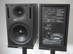 Genelec 1029 monitors. They sound soooo good :)  I auditioned for DJ in a bar/club and there was a pair of these in the DJ booth. What an accurate and solid sound. I a agree they goooood.
