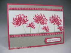 Curtain Call Pretty in Pink, Stampin' Up! Too Kind set. www.stampingchronicles.com