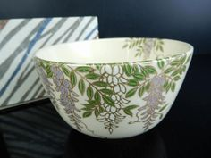 H8954:Japanese Kiyomizu-ware Flower pattern TEA BOWL Green tea tool,Zuiho made | Antiques, Asian Antiques, Japan | eBay!