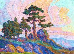 sandzen-colorado-sunset