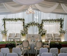 Wedding Reception In Wedding Backdrop Design, Wedding Reception Design, Rustic Wedding Backdrops, Wedding Reception Backdrop, Wedding Mandap, Wedding Rustic, Wedding Ideas, Indoor Wedding Decorations, Indoor Wedding Receptions