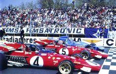 J.Ickx | C.Regazzoni | C.Amon 1971 Spanish Grand Prix