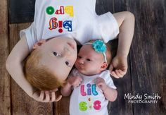 Newborn sibling photography | Mindy Smith Photography 2015