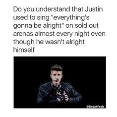 This is so heartbreaking. and btw its be alright not everythings gonna be alright Justin Bieber Posters, Justin Bieber Images, Justin Bieber Facts, All About Justin Bieber, Love The Lord, I Love Him, My Love, Boyfriend Justin, Gonna Be Alright