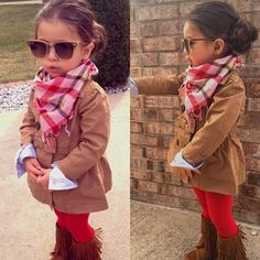 Stylish little girl, totally gonna be Addie!