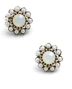 Dainty Dazzle Earrings  $11.99 on ModCloth, LOVE