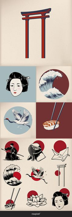 Japanese vector be inspired by rawpixel.com