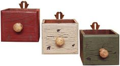 Vintage Stacking Boxes - Primitive, Country Rustic Wood Boxes by Ohio Wholesale, Inc., http://www.amazon.com/dp/B004OPES82/ref=cm_sw_r_pi_dp_X.Ehrb00AXG20