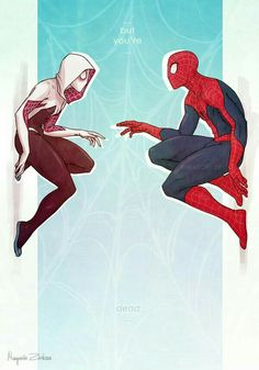 Spiderman and Spider Gwen