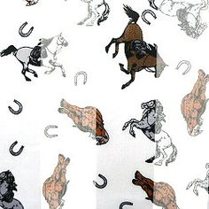 FASHION SCARVES WITH HORSE PATTERN