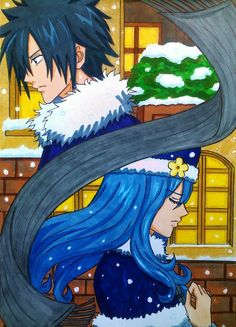 Gray x Juvia: 413 days by dagga19 OMG if youdid not see this episode then you have to see it