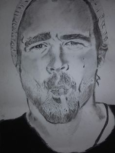 Colin Farrell drawing