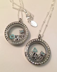 Matching mom & daughter living lockets for this special girl's birthday. Give Origami Owl as a gift today! rmbuning@hotmail.com or shop online at wee.rebeccabuning.origamiowl.com!