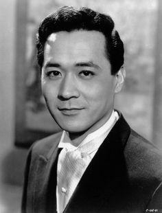 Actor James Shigeta - actor, singer, musical theater and nightclub performer and recording artist James Shigeta, Actor James, Iconic Movies, Old Movies, Actor Secundario, Old Movie Stars, Humphrey Bogart, Classic Films, Old Hollywood
