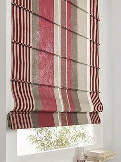 Store Bateau en tissu Elena Rose Collection Heytens   Curtains ...