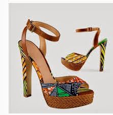 Ankara Shoes Africa Assessories Style
