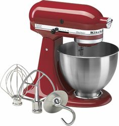 KitchenAid - Ultra Power Tilt-Head Stand Mixer - Red - Angle Zoom