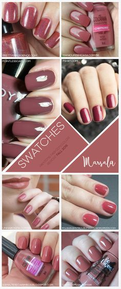 Site Unha Bonita | por Daniele Honorato » Arquivos Pantone Fashion Color Report Fall 2015 Marsala