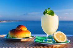 Sicilian granita, all the recipes about one of the most famous dessert of Sicily, from the lemon one to almond granita. What you need to know to prepare and taste the authentic Sicilian granita.