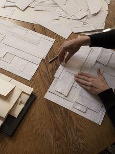 Painting Inspiration, Art Inspo, Diagrammes Origami, Art Actuel, Diy Art, Paper Art, Modern Art, Art Projects, Original Artwork