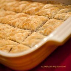 Baklava  From Capital Cooking's Greek Feast episode