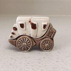 Vintage Stage Coach Salt And Pepper Shakers Victoria Ceramics Japan
