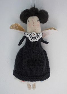 Commissioned doll ~ Wednesday, a Gothic Fairy:) | by Maidolls