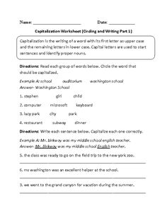 should i capitalize college subjects write to college