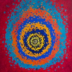 "Saatchi Art Artist Zuzana Mantel; Painting, ""Comet of Life"" #art"