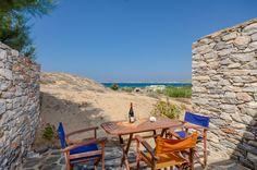 Victoria Studios and Apartments in Naxos, Mikri Vigla Studio Apartment, Outdoor Furniture, Outdoor Decor, Pavilion, Sun Lounger, Greece, Bbq, Victoria, Patio