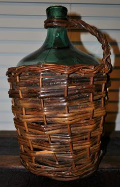 woven wine bottles -- find steals like these on e-bay