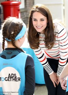 With the London Marathon just days away, efforts have been intensifying in the run up to the big day. Today, the Duchess of Cambridge hoste...