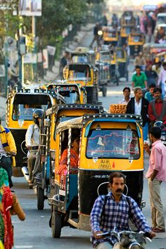 Traffic in Jodphur, India