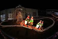 ... this year's Speedway Christmas light show at Charlotte Motor Speedway