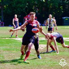 Caught the 2017 USAFL Eastern Regional Tournament at our old stomping grounds on @ncstateurec Miller Fields - Cool shot of the @boston_demons @usafl1997 -- -- #usafl #australianfootball #ncstate #sports #team #rugby #football #campus #university #fundraiser #league