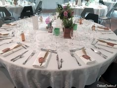 A nice table for a beautiful wedding #wedding #inspiration #champêtre #nature #wild #weddingtable #white #plantes