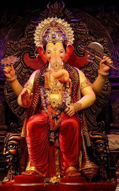 Famous Ganesh Pandals in Mumbai Photo Gallery, Pictures, Photos, Images, Pics Lord Ganesha, Jai Ganesh, Ganesh Idol, Shree Ganesh, Ganesh Statue, Baby Ganesha, Shri Ganesh Images, Shiva Parvati Images, Ganesha Pictures