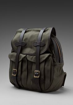 FILSON White Label Rucksack in Otter Green -