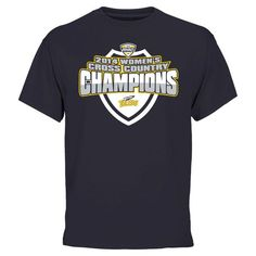 Toledo Rockets 2014 Women's Cross Country Conference Champs T-Shirt - Navy Blue - $21.99