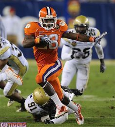 One of the best Clemson players, ever - C.J. Spiller!
