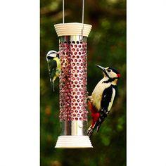 Chapelwood Bird Feeder Heavy Duty Suet Ball Feeder Small or Medium NEW