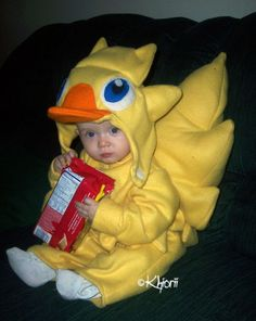 Baby chocobo, from Final Fantasy.