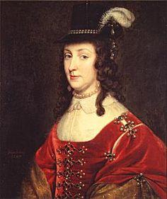 Leonora Christine, Gerrit Honthorst, Nederlandene 1647, olie på lærred, Frederiksborg Slot